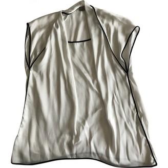 Mantu White Top for Women