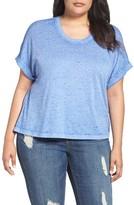 Melissa McCarthy Plus Size Women's Crop Tee