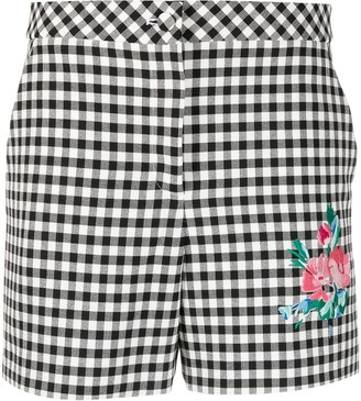 Boutique Moschino Gingham-Print Shorts