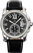 K&S KS Men's KS066 Date Day Automatic Mechanical Leather Wrist Watch + Gift Box