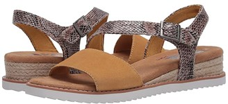 Skechers Bobs From BOBS from Desert Kiss - Cactus Rose (Yellow) Women's Shoes