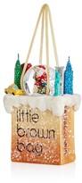 Bloomingdale's Little Brown Bag Santa Ornament - 100% Exclusive