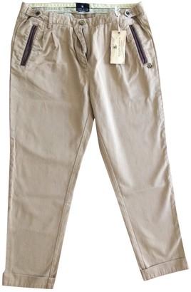 Maison Scotch Beige Cotton Jeans for Women