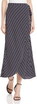 Bardot Mali Striped Wrap Maxi Skirt