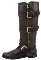 Balmain Alias Leather Boots w/ Tags