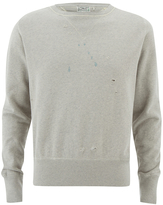Levi's Vintage Men's 1930s Bay Meadows Sweatshirt Oatmeal
