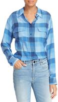 Equipment Silk Plaid Buttondown
