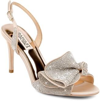 Badgley Mischka Rennie Embellished Slingback Sandal