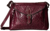 Patricia Nash Folklore Avellino Top Zip Crossbody Cross Body Handbags