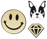 Page D Smile Dog Pins/Set of 3