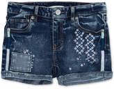 Levi's Embroidered Shorty Short, Big Girls