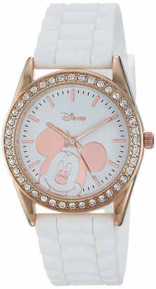 Disney Women's Mickey Mouse Analog-Quartz Watch with Rubber Strap