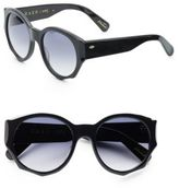 Raen 52MM Round Sunglasses