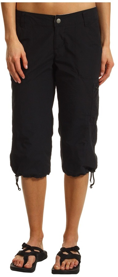 Columbia Arch Cape III Knee Pant (Black) - Apparel