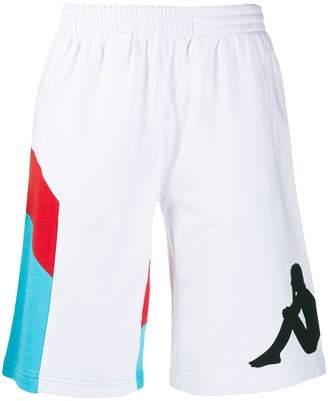 Kappa Logo Stamp Bermuda Shorts