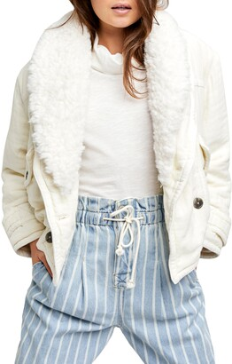 Free People Georgie Faux Fur Jacket