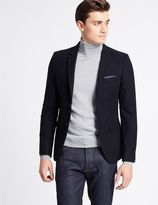 Marks and Spencer Wool Blend Textured Jacket