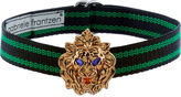 Gabriele Frantzen Black & Green Lion Candy Choker