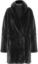 McQ Faux Fur Coat