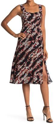 Diane von Furstenberg Juliet Printed Midi Dress
