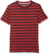 Tommy Hilfiger Boy's Ame DG Thdm Reg Stp CN Knit S/S 14 T-Shirt
