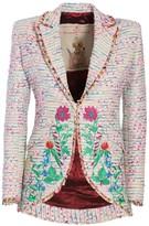 The Extreme Collection Flower Smoking Blazer Jacket Armida
