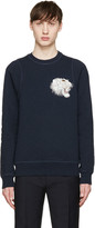 Marc Jacobs Navy Embroidered Tiger Sweatshirt