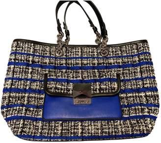 Karl Lagerfeld Paris Blue Tweed Handbags