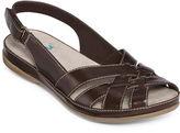 Yuu Jenelle Peep-Toe Strap Sandals