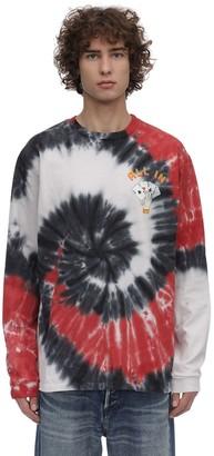 Just Don Tie Dye Ls Cotton Jersey T-Shirt
