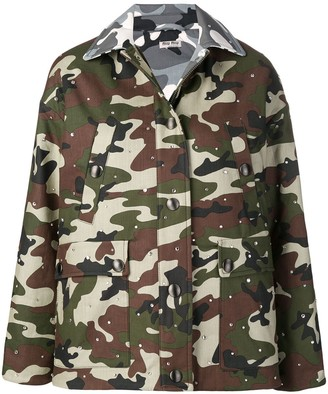 Miu Miu Military Jacket