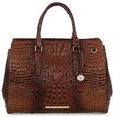 Brahmin Finley Crocodile Embossed Leather Carryall Melbourne