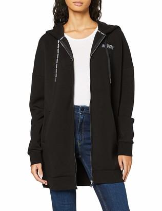 GUESS Women's Kristen Jacket Hooded Sweatshirt