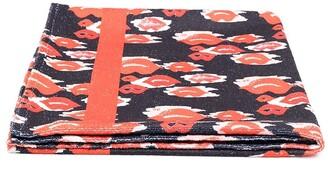 Elisabetta Franchi La Mia Bambina Lips-Print Rectangular Towel