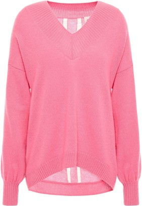 Charli Distressed Cashmere Sweater