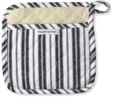 Williams-Sonoma Williams Sonoma Striped Potholder, Navy Blue