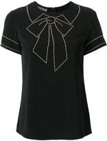 Moschino bow motif T-shirt
