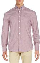 Brunello Cucinelli Checked Cotton Shirt