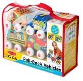 Melissa & Doug Four-Piece Pull-Back Vehicle Set
