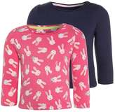 Mothercare BUNNY 2 PACK Long sleeved top pink