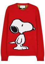 Gucci Snoopy-intarsia Wool Jumper
