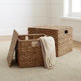 Crate & Barrel Kelby Square Lidded Baskets
