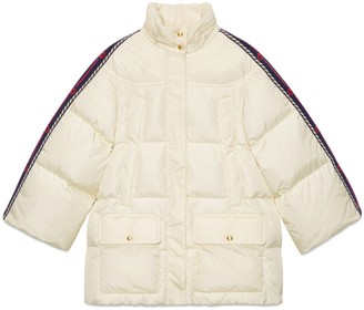 Gucci Nylon jacket with Web