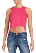 Romeo & Juliet Couture Sleeveless Cropped Top