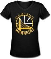 Golden State Warriors Gh Store Golden State Warriors V Neck Women T Shirt Printing Womens Polo