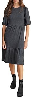 Velvet by Graham & Spencer Brie Tiered Bubble Sleeve Dress