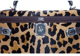 Hermes pristine (PR Leopard Troika 32cm Kelly Bag, One-of-a-Kind Special Order