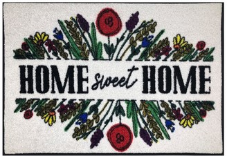 Pottery Barn Home Sweet Home Indoor/Outdoor Washable Mat