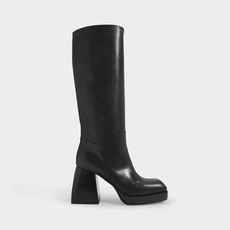 Nodaleto Bulla Solal Boots In Black Calf Leather