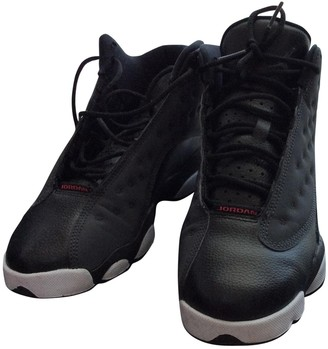 Jordan Air 7 Black Leather Trainers